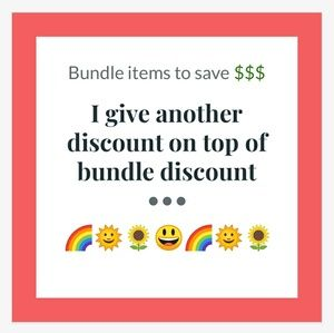 Other - Bundle items to save money!